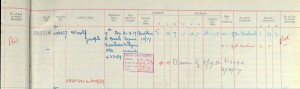 Gratuity Record.Woolf