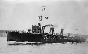 HMS NUBIAN 1909
