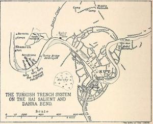 Hai Salient Map 1917