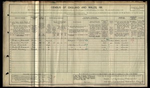 Haward 1911 Census