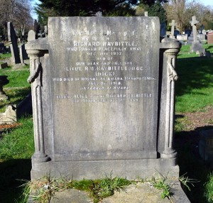 Haybittle S Ealing Memorial