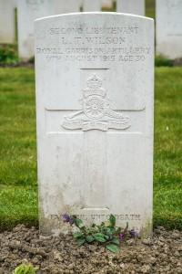 Headstone Wilson T