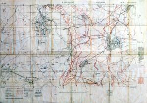 Hebuterne and Redan Ridge 1916