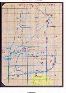Hermies Map 14 May 1917