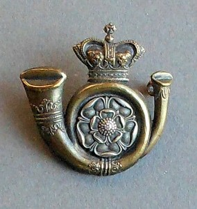 Kings-Own-Yorkshire-Light-Infantry cap badge