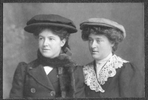 LONG. Florence and Violet c.1897