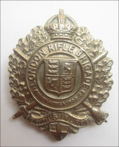London Rifle Brigade badge