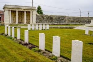 Lowe cemetery Vermelles