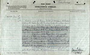 Lowe war diary