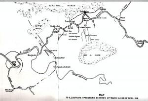 Map Kut and Falluja
