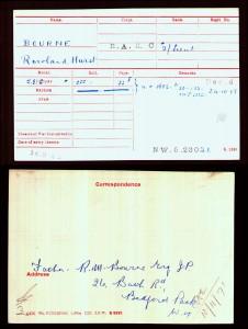 Medal Card.Bourne