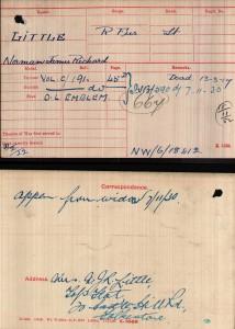 Medal Card.NJR Litlle