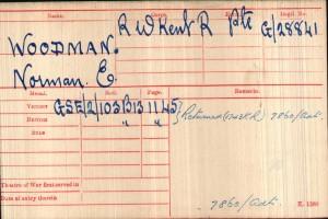 Medal Card.Woodman NE