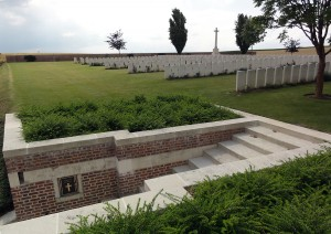Romeries Communal Cemetery Extension CWGC (Nord, Fr) (1)