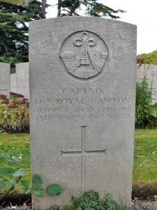Royal-Dawson Headstone