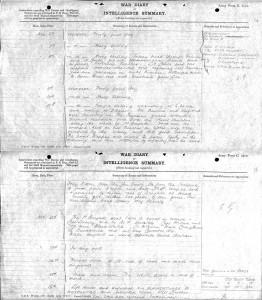 Scots 1.Battn.Nov1914. War Diary