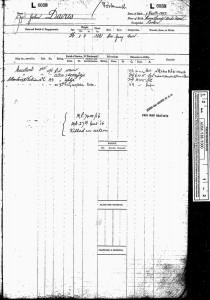 Service Record.Davies
