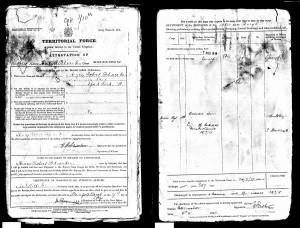 Territorial record Schwaben HR