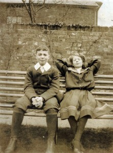 Tom Squire with sister Daphne