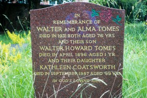 Tomes Memorial, Hammersmith