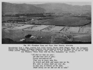 Trentham Camp 1916