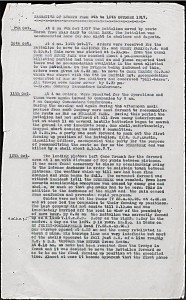 War Diary.attack 12 Oct 1917