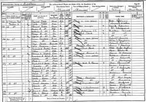 Yorke 1891 Census
