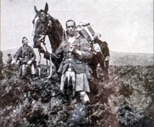 Yorke at Western Front 1914