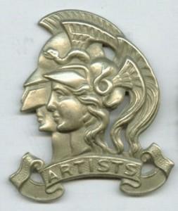Artists Rifles badge