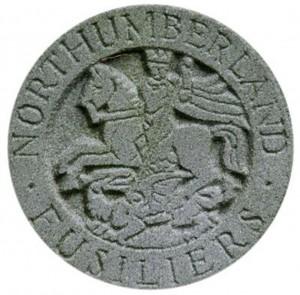 fusilier headstone badge