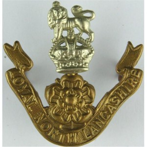 loyal north-lancashire regiment cap badge